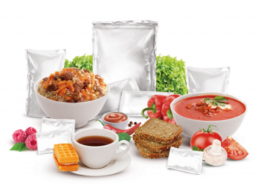 Ready-to-eat meals and rations